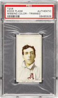 Baseball Cards:Singles (Pre-1930), 1909-11 T206 Piedmont Eddie Plank PSA Authentic....
