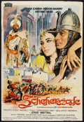 "Movie Posters:Adventure, Scheherazade (Mercurio Films S.A., 1963). Spanish Poster (26.5"" X39""). Adventure.. ..."