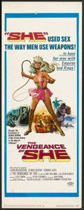 "Movie Posters:Adventure, The Vengeance of She (20th Century Fox, 1968). Insert (14"" X 36"").Adventure.. ..."