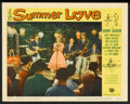 "Movie Posters:Comedy, Summer Love Lot (Universal International, 1958). Lobby Cards (8) (11"" X 14""). Comedy.. ... (Total: 8 Items)"