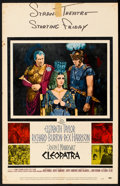 "Movie Posters:Historical Drama, Cleopatra (20th Century Fox, 1963). Window Card (14"" X 22"").Historical Drama.. ..."