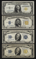 Small Size:World War II Emergency Notes, North Africa Denomination Set Plus One.. ... (Total: 4 notes)