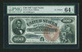 Large Size:Legal Tender Notes, Fr. 172 $100 1880 Legal Tender PMG Choice Uncirculated 64 EPQ....