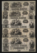 Obsoletes By State:Louisiana, New Orleans, LA- Canal Bank $10 Two Examples; $20 Three Examples. ... (Total: 5 notes)