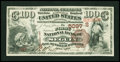 Seguin, TX - $100 1882 Brown Back Fr. 528 The First NB Ch. # (S)5097