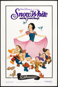 "Movie Posters:Animated, Snow White and the Seven Dwarfs (Buena Vista, R-1987). One Sheet(27"" X 41"") 50th Anniversary Style. Animated.. ..."