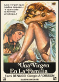 "Movie Posters:Sexploitation, Una Virgen en La Familia Lot (Blanco and Travleso, 1975). SpanishOne Sheets (4) (27"" X 41""). Sexploitation.. ... (Total: 4 Items)"