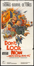 "Movie Posters:War, Don't Look Now...We're Being Shot At (Rank, 1968). British ThreeSheet (41"" X 81""). War.. ..."