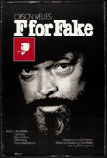 """Movie Posters:Documentary, F for Fake (Specialty, 1974). One Sheet (27"""" X 41""""). Documentary.. ..."""