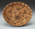 American Indian Art:Baskets, A WESTERN APACHE COILED BOWL . c. 1920...