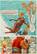 Mainstream Illustration, HARVEY KURTZMAN (American, 1924-1993) and WILL ELDER (American,1922-2008). Little Annie Fanny, Complete 5-page Playbo...