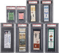 Baseball Collectibles:Tickets, 1971-2004 500th Home Run Full Ticket & Stub Lot of 8....