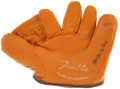 """Autographs:Others, Bill """"Ready"""" Cash Signed Glove. ..."""