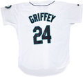 Autographs:Jerseys, Ken Griffey, Jr. UDA Signed Jersey....