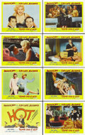 "Movie Posters:Comedy, Some Like it Hot (United Artists, 1959). Lobby Card Set of 8 (11"" X14""). ... (Total: 8 Items)"