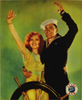 "Movie Posters:Comedy, True to the Navy (Paramount, 1930). Jumbo Lobby Card (14"" X 17"")...."