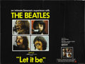 "Movie Posters:Rock and Roll, Let It Be (United Artists, 1970). British Quad (30"" X 40"")...."