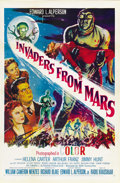 "Movie Posters:Science Fiction, Invaders From Mars (20th Century Fox, R-1955). One Sheet (27"" X41""). ..."