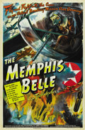 "Movie Posters:War, The Memphis Belle (Paramount, 1944). One Sheet (27"" X 41"") Style A...."