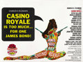 "Movie Posters:James Bond, Casino Royale (Columbia, 1967). British Quad (30"" X 40"")...."