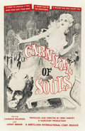"Movie Posters:Horror, Carnival of Souls (Herts-Lion International, 1962). One Sheet (27""X 41""). ..."