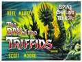 "Movie Posters:Science Fiction, The Day of the Triffids (Allied Artists, 1960). British Quad (30"" X40""). ..."