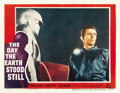 "Movie Posters:Science Fiction, The Day the Earth Stood Still (20th Century Fox, 1951). Lobby Card(11"" X 14""). ..."