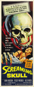 "Movie Posters:Horror, The Screaming Skull (American International, 1958). Insert (14"" X36""). ..."