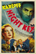 "Movie Posters:Crime, Night Key (Universal, 1937). One Sheet (27"" X 41"")...."