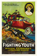 """Movie Posters:Crime, Fighting Youth (Columbia, 1925). One Sheet (27"""" X 41"""") Style A. ..."""