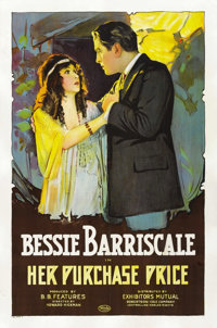 """Her Purchase Price (Exhibitors Mutual Distributing Company, 1919). One Sheet (27"""" X 41"""")"""