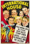 "Movie Posters:Comedy, International House (Paramount, 1933). Australian One Sheet (27"" X40""). ..."