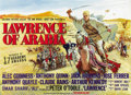 "Movie Posters:Academy Award Winner, Lawrence of Arabia (Columbia, 1962). British Quad (30"" X 40""). ..."