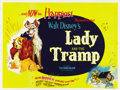 "Movie Posters:Animated, Lady and the Tramp (Buena Vista, 1955). British Quad (30"" X40"")...."