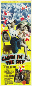 """Movie Posters:Musical, Cabin in the Sky (MGM, 1943). Insert (14"""" X 36""""). ..."""