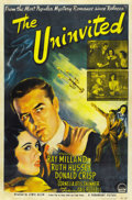 "Movie Posters:Horror, The Uninvited (Paramount, 1944). One Sheet (27"" X 41"")...."