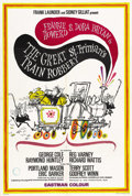 """Movie Posters:Comedy, The Great St. Trinian's Train Robbery (British Lion, 1966). British One Sheet (27"""" X 40""""). ..."""