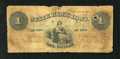 Obsoletes By State:Iowa, Unknown Branch, IA- State Bank of Iowa $1 Date?. This is a scarce$1 that has been around the block a few times. There is a ...