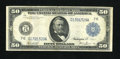 Large Size:Federal Reserve Notes, Fr. 1049 $50 1914 Federal Reserve Note Very Good. Some pinholes are noticed on the once wet surfaces of this Chicago note th...