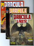 Magazines:Horror, Dracula Lives! Group (Marvel, 1973-75) Condition: Average VF/NM.... (Total: 8)