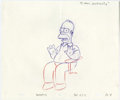 "Animation Art:Production Drawing, ""The Simpsons"" - Animation Drawing Original Art, Group of 50(Fox).... (Total: 50)"
