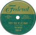 Music Memorabilia:Recordings, Royals 78 Group of 2 (Federal, 1952). The group that evolved intothe Midnighters after Hank Ballard joined in 1953 released...