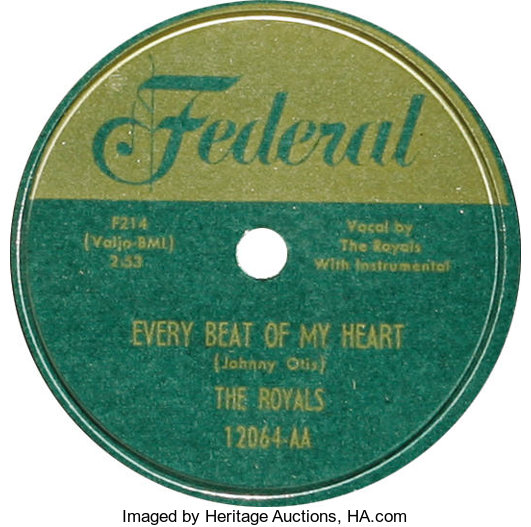 Royals 78 Group of 2 (Federal, 1952)  The group that evolved