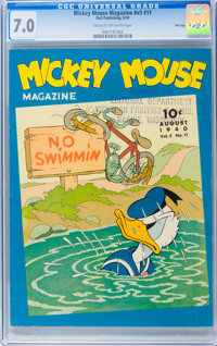 Mickey Mouse Magazine V5#11 File Copy (K. K. Publications, Inc., 1940) CGC FN/VF 7.0 Cream to off-white pages