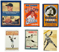 Autographs:Others, Pitching Stars Signed Books Lot of 6. ...