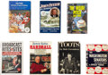 Autographs:Others, Baseball Figures Signed Books Lot of 7. ...