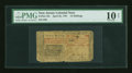 Colonial Notes:New Jersey, New Jersey April 23, 1761 12s PMG Very Good 10 Net....