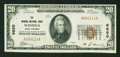 National Bank Notes:West Virginia, Winona, WV - $20 1929 Ty. 1 The Winona NB Ch. # 9850. ...