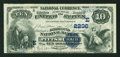 National Bank Notes:Pennsylvania, Pittsburgh, PA - $10 1882 Date Back Fr. 542 The Diamond NB Ch. # (E)2236. ...