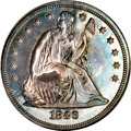 Proof Seated Dollars, 1846 $1 PR64 NGC....